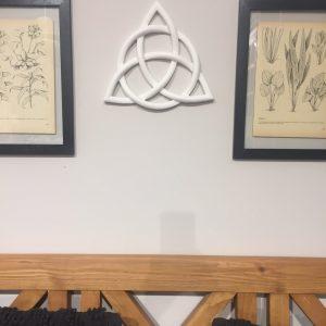 Drewniana dekoracja węzeł celtycki